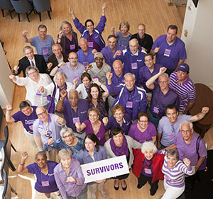 Pancreatic cancer survivors at Advocacy Day 2014