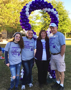 In 2017, nearly 80,000 people walked, jogged and ran in PurpleStride events all over the country.