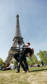 1.Allison and her boyfriend Eric traveled to France before her pancreatic cancer diagnosis.