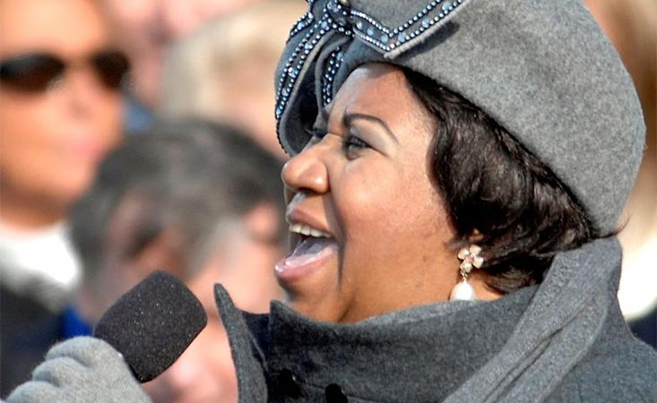 Aretha Franklin singing at President Obama's first inauguration died of pancreatic cancer.