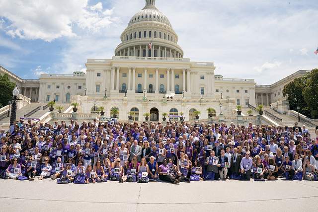 Advocacy Day in Washington, D.C., urges Congress to fund pancreatic cancer research