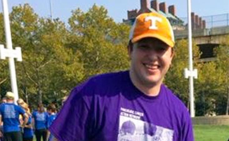 1) PurpleStride Cincinnati fundraiser at annual 5K walk to end pancreatic cancer